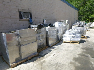 7 Pallets of Fetco Coffee Brewing Machines and Coffee Pots