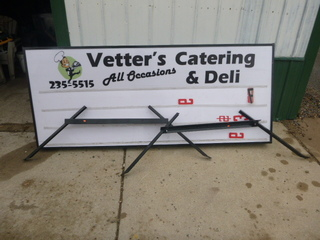Double-Sided Sign