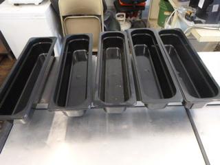 5 Salad Bar Pans