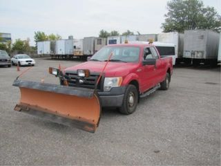 2009 FORD F-150 PLOW TRUCK 220672 KMS
