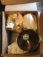 Brown stoneware dishes