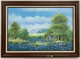 Oil On Canvas Signed And Framed 43x31 See