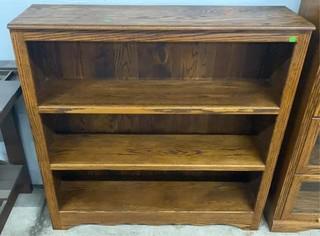 Wooden Bookcase 48x13x48