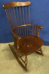 Virginia House Wooded Rocking Chair 22x29x40