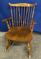 Nichols And Stone Co Wooden Rocking Chair 24x28