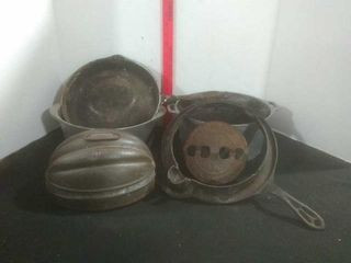 Wagner and Griswold Cast Cookware