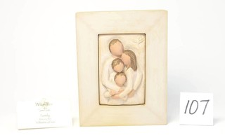 Willow Tree Memory Box - Title is Family
