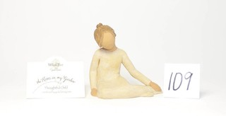 Willow Tree Figurine - Title is Thoughtful Child