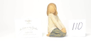 Willow Tree Figurine - Title is Joyful Child