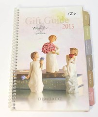 Willow Tree Ornament 2013 Gift Guide Book