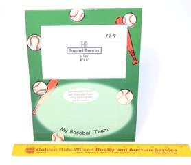 Treasured Memories Baseball Frame