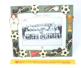 Russ Brand Soccer Picture Frame