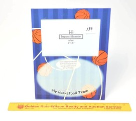Treasured Memories Basketball Picture Frame