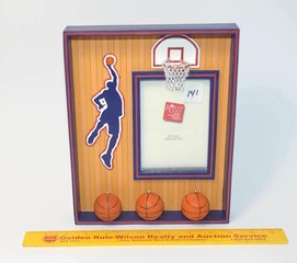 Russ Brand Basketball Picture Frame