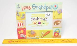 Russ Brand I Love Grandpa Picture Frame