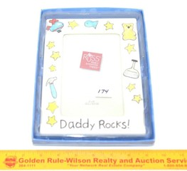 Russ Brand Picture Frame - Daddy Rocks