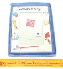 Russ Brand Picture Frame - Grandpa is King