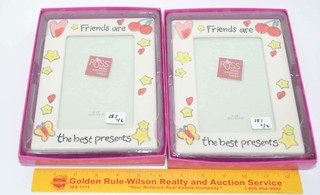 (2) Russ Picture Frames - both are Friends are
