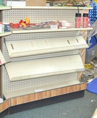 Shelving Unit - Measures Approx. 57 T x 4ft. W -
