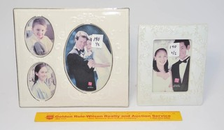 (2) Russ Brand Picture Frames - Wedding