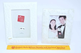 (2) Russ Brand Picture Frames - One is Wedding &