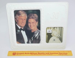 Russ Brand Picture Frame - 2 Photo Picture Frame