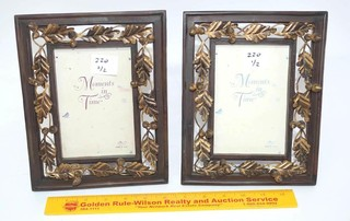 (2) Russ Brand 4 x 6 Picture Frames