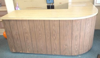 Store Counter Display - Measures 34 1/2in T -