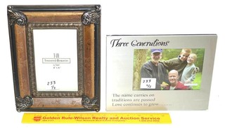 Treasured Memories 4 x 6 Picture Frame also