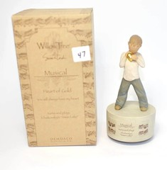 Willow Tree Musical Figurine - Title is Heart of