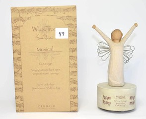 Willow Tree Musical Figurine - Title is Courage