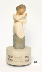 Willow Tree Musical Figurine - Title is Guardian