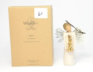 Willow Tree Ornament 2014 - Filled with Golden