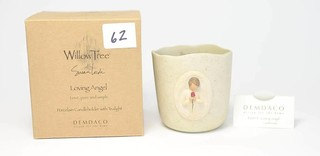 Willow Tree Candle Holder - Title is Loving Angel