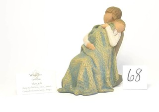 Willow Tree Figurine - Title is The Quilt