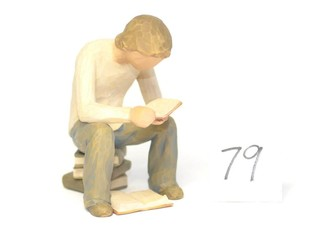 Willow Tree Figurine - Title is Quest