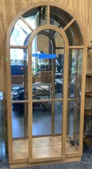 Arched Lighted Curio Cabinet: 40