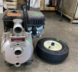 Red Lion Gas Engine: No Gas Cap, Dolly Tire