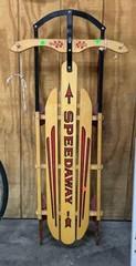 Speedaway Wooden Sled