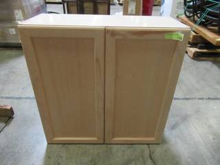 Hampton Bay Assembled 30 in. x 30 in. x 12.62 in. Easthaven Wall Cabinet in Unfinished German Beech EH3030W-GB