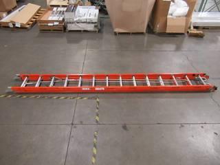 Bauer Corporation 28 ft. Fiberglass Extension Ladder 39128COMR