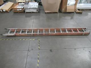 Little Giant Ladder Systems 28 ft. Aluminum Extension Ladder 15628