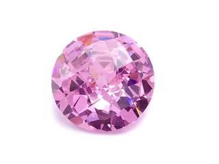 10.21 Carat Pink Fiery Loose Gemstone; 12mm