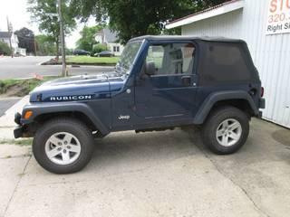 2004 Jeep Wrangler Rubicon New Tire...