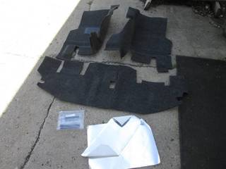 Custom Formed/Cut Floor Carpet with...
