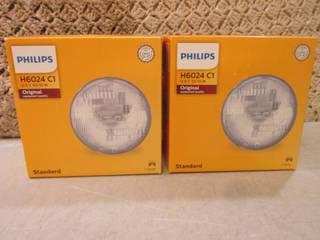 2 Philips H6024 C1 Standard Origina...
