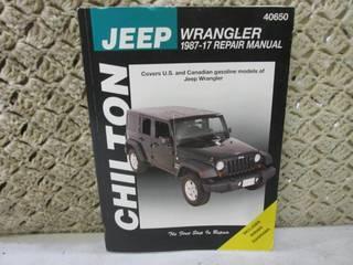 Chilton Jeep Wrangler 1987-17 Repai...