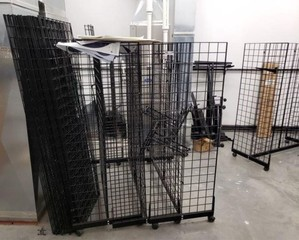 Large Offering of Wire Display Racks & Targets