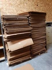 Huge Lot of Cardboard Boxes