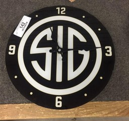SIG Advertising Wall Clock